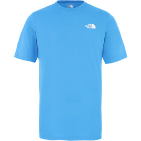 The North Face Flex II Camisa Manga Corta Hombre, clear lake blue